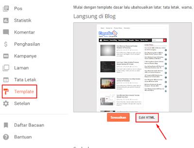 Cara Mengisi Menu Navigasi Dengan URL Postingan Blog 5