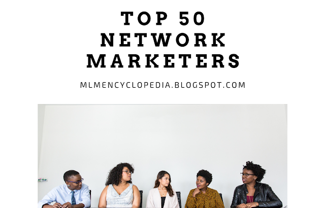 Top 50 Network Marketers From All Over The World