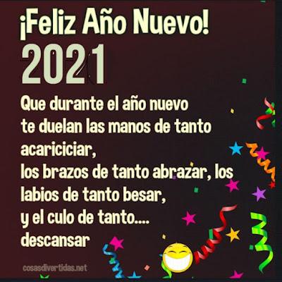 Feliz Año Nuevo 2021 con humor