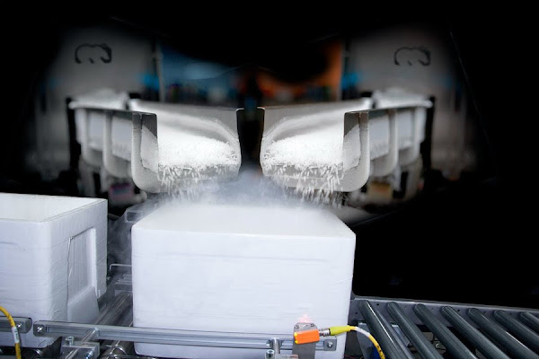 Tecnologia da Cold Jet fornece gelo seco que salva vidas