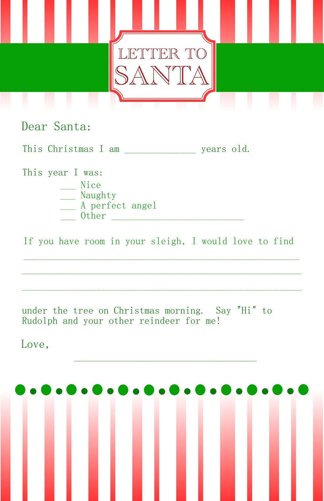 letter to santa writing a letter to santa i created christmas ...