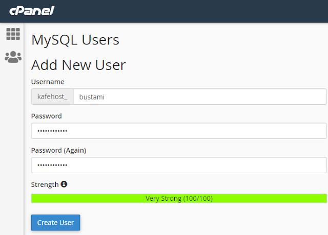 Cara Membuat Database MySQL di cPanel