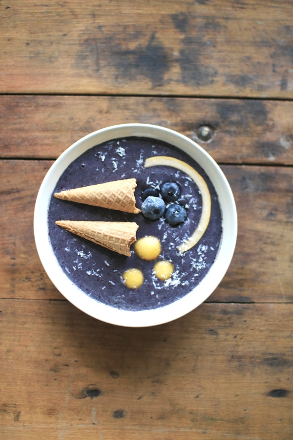 Make shofar smoothie bowls for the Feast of Trumpets | Land of Honey