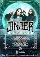 Concierto de JINJER en Bogotá 2020