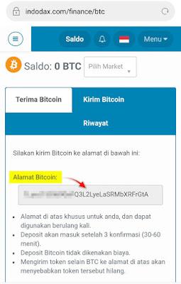 melihat alamat bitcoin