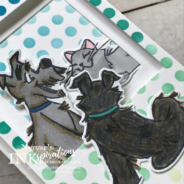 By Angie McKenzie for Ink and Inspiration Blog Hop; Click READ or VISIT to go to my blog for details! Featuring the amazing Pampered Pets Bundle along with the A Grand Kid Cling Stamp Set and Free as a Bird Photopolymer Stamp Set Dies from the 2020-21 Annual Catalog; #pamperedpetsstampset #pamperedpetsbundle #playfulpetssuite #playfulpetstrinkets #freeasabirdstampset #agrandkidstampset #decorativemasks #sponging  #20202021annualcatalog #bloghops #inkandinspirationbloghop #stampinup #cardtechniques #friendshipcards #cardsforkids #naturesinkspirations