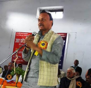 धरने को सफल बनाने के लिए रमेश सिंह ने किया विभिन्न विद्यालयों का किया दौरा | #NayaSaberaNetwork