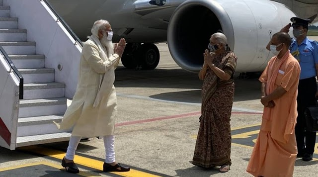 Uttar Pradesh successfully handled second wave of Covid: PM Modi in Varanasi