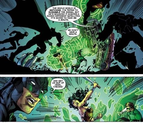 Wonder Woman se enfrenta a la Liga de la Justicia