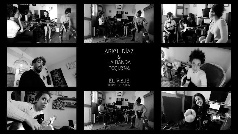 Ariel Díaz y La Banda Pequeña - ¨El viaje¨ - Videoclip. Portal Del Vídeo Clip Cubano. Música cubana. Cuba.