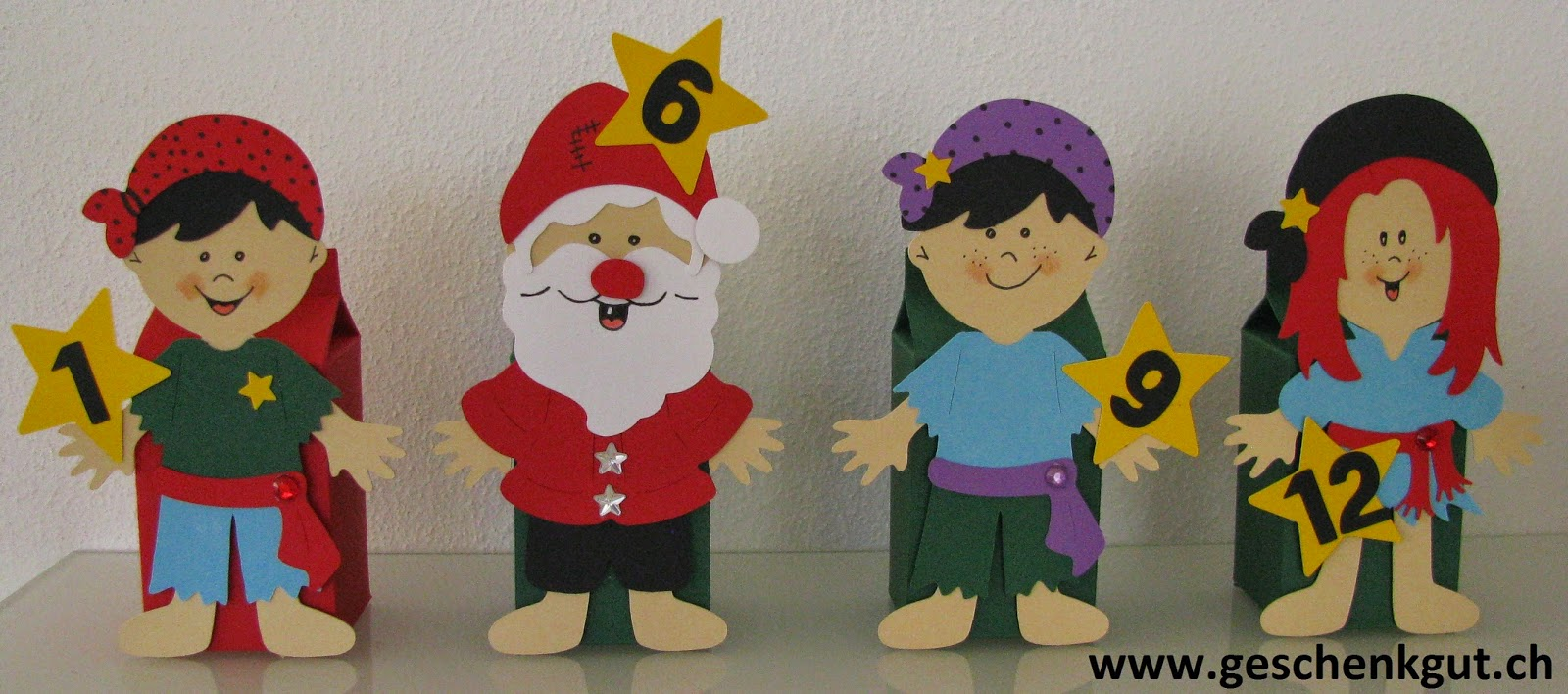 Adventskalender Weihnachten Advent Geschenkgutschein