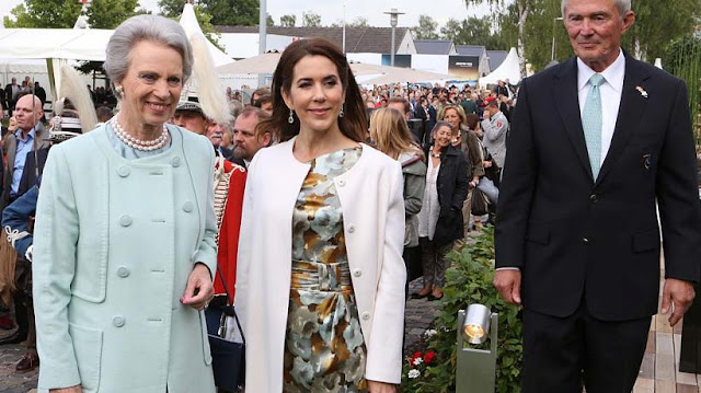 Crown Princess Mary and Princess Benedikte attend the opening of the international horse show CHIO in Aachen