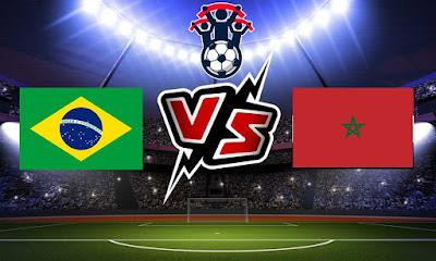 المغرب و البرازيل بث مباشر