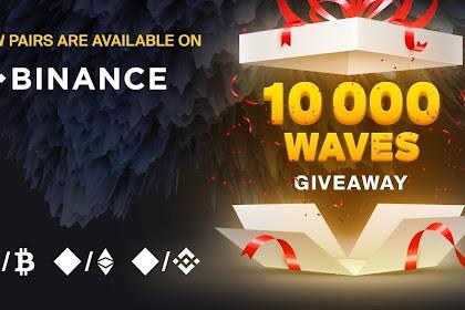 10 000 $Waves GiveAway !!