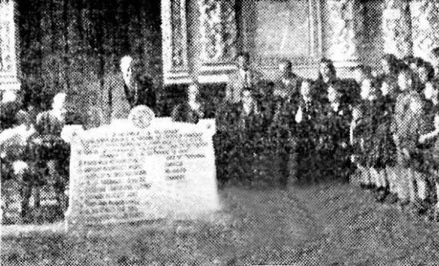 Explosion polvorin pinar de antequera en 1940.