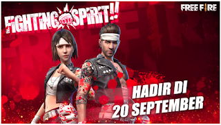 Event Fighting Spirit FF Berhadiah Bundle Gen-J dan Tokia di Bulan September
