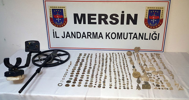 471 artefacts seized in anti-smuggling op in southern Turkey