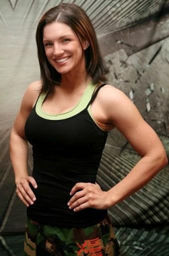 Gina Carano sexy Gata   Gina Carano lutadora de MMA