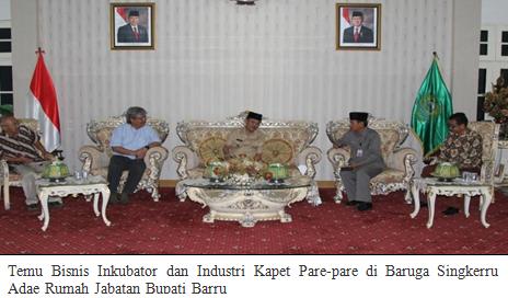 Kabupaten Barru Menjadi Tuan Rumah Temu Bisnis Kapet