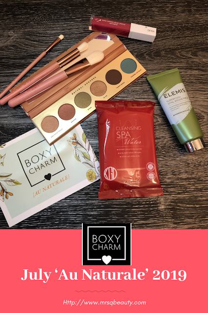 Boxycharm July 'Au Naturale' 2019 Unboxing