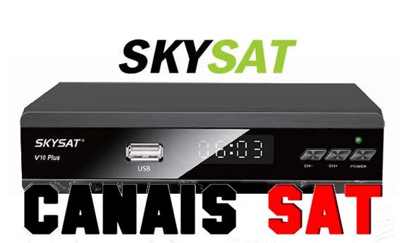 Skysat V10 Plus Nova Atualização V1.885 - 16/08/2019