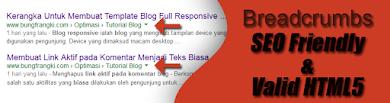 Penting! Cara Membuat Breadcrumb SEO Friendly dan Valid HTML5