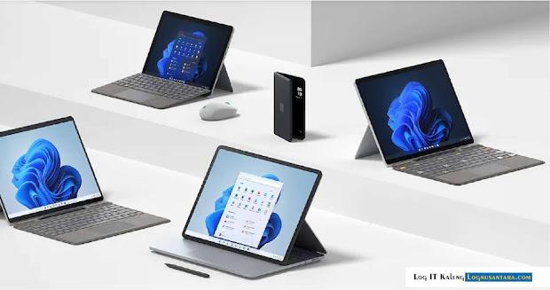 Laptop Studio Microsoft Surface Dengan Desain Unik, Surface Pro 8, Surface Duo 2
