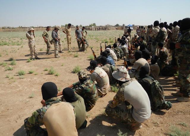 Instructores españoles de Operaciones Especiales se despliegan para la ofensiva final sobre Mosul (Irak)