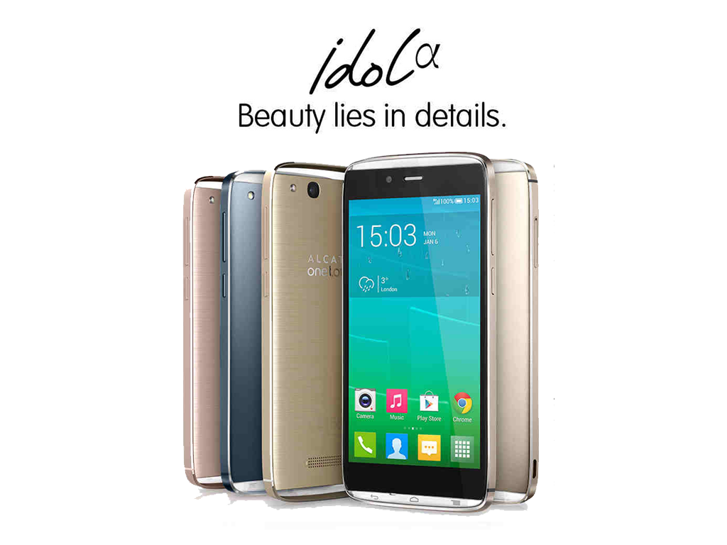 Alcatel Idol Alpha Now Available in the Philippines for Php 12,999