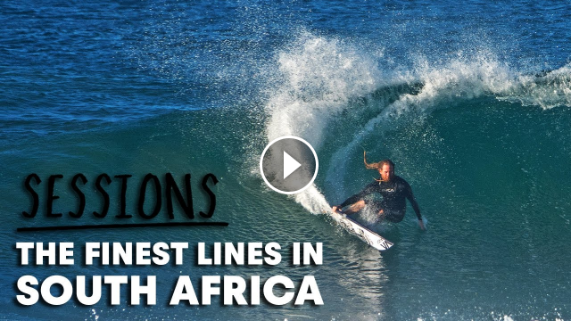 Missing The J-Bay Open We Decided To Make This Reel Of Epic South African Surfing Sessions