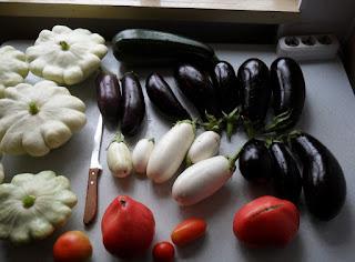 Урожай овощей, 29 июля