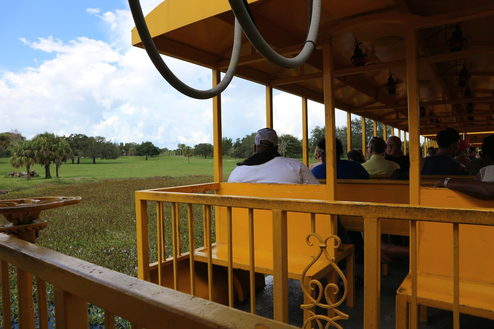 Busch Gardens Train Ride