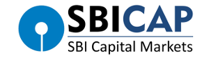 Logo of SBI Capital Markets a leading financial intermediary.