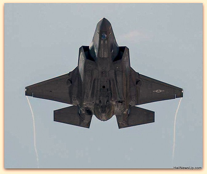 Japan's fighter plane F-35 crashed in the Pacific Ocean