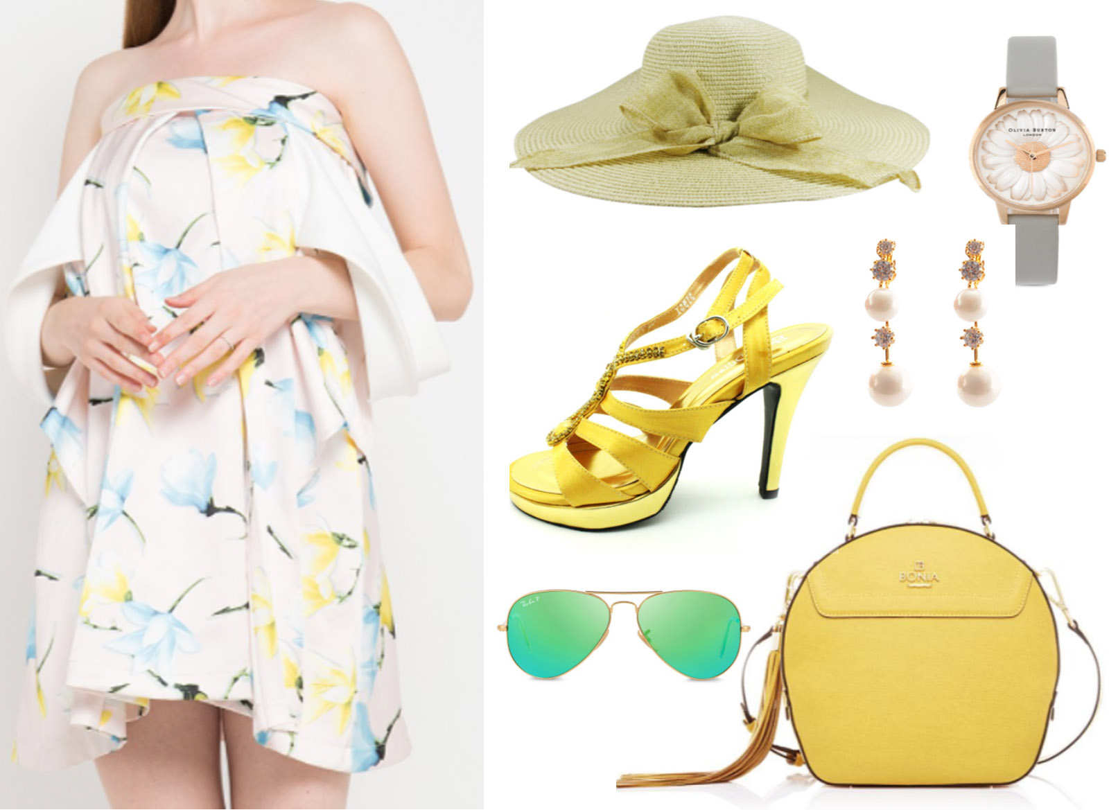 summer dress fashion look inspiration