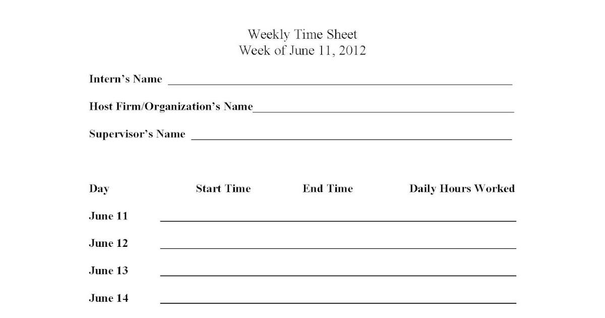 slip 20 timesheet for public interns