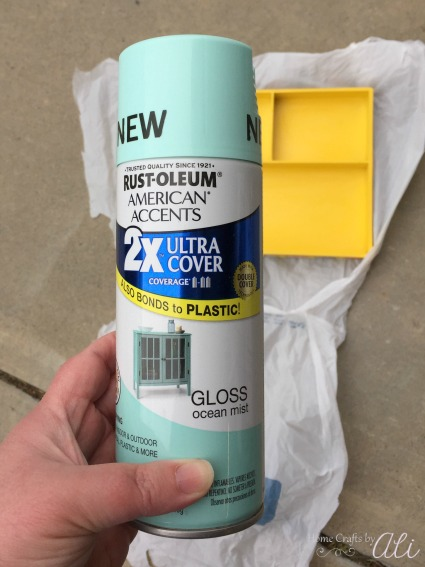 rustoleum spray paint 2x ultra cover diy project