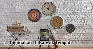 Jam Dinding Bisa Digunakan Di Banyak Tempat