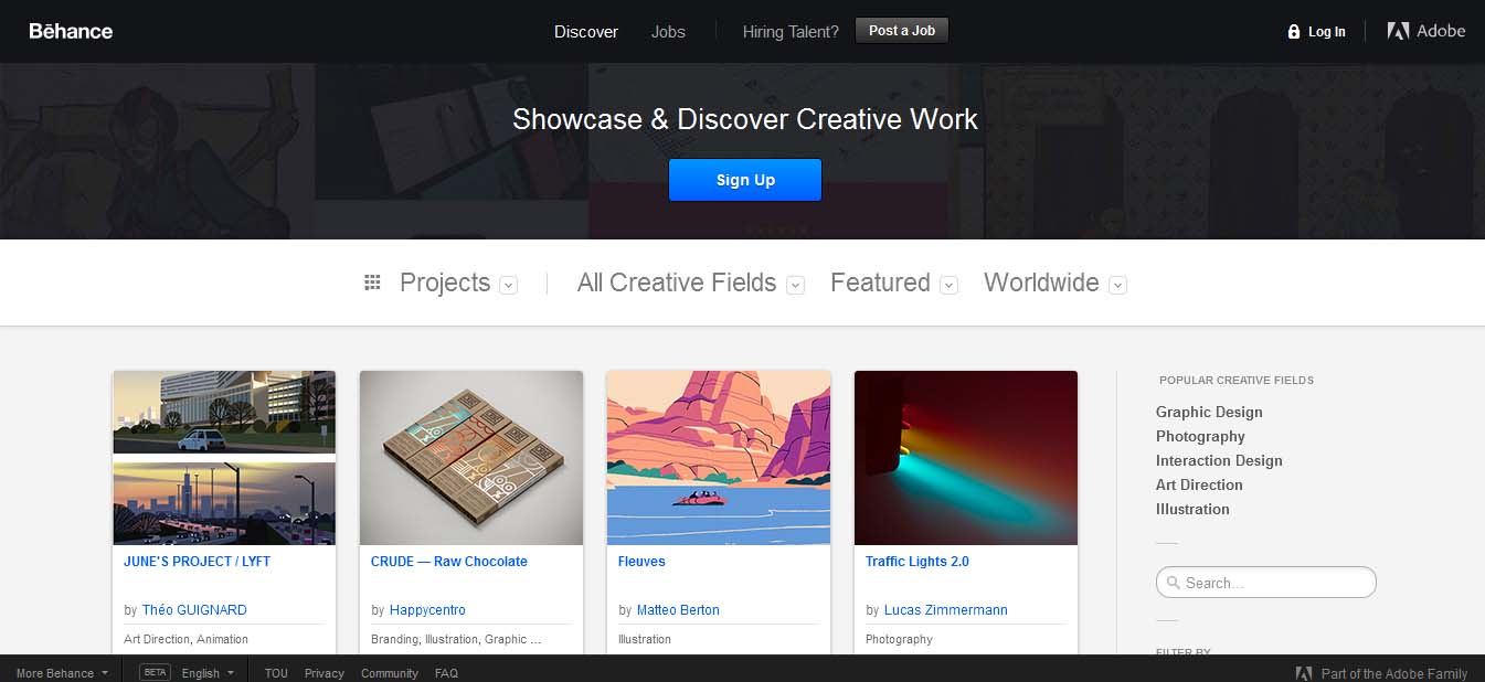 website, blog desain grafis, desainer grafis, pekerjaan terbaru