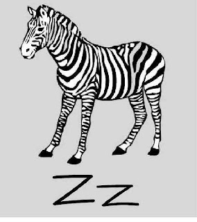 Z is for Zebra ~ My Father's World