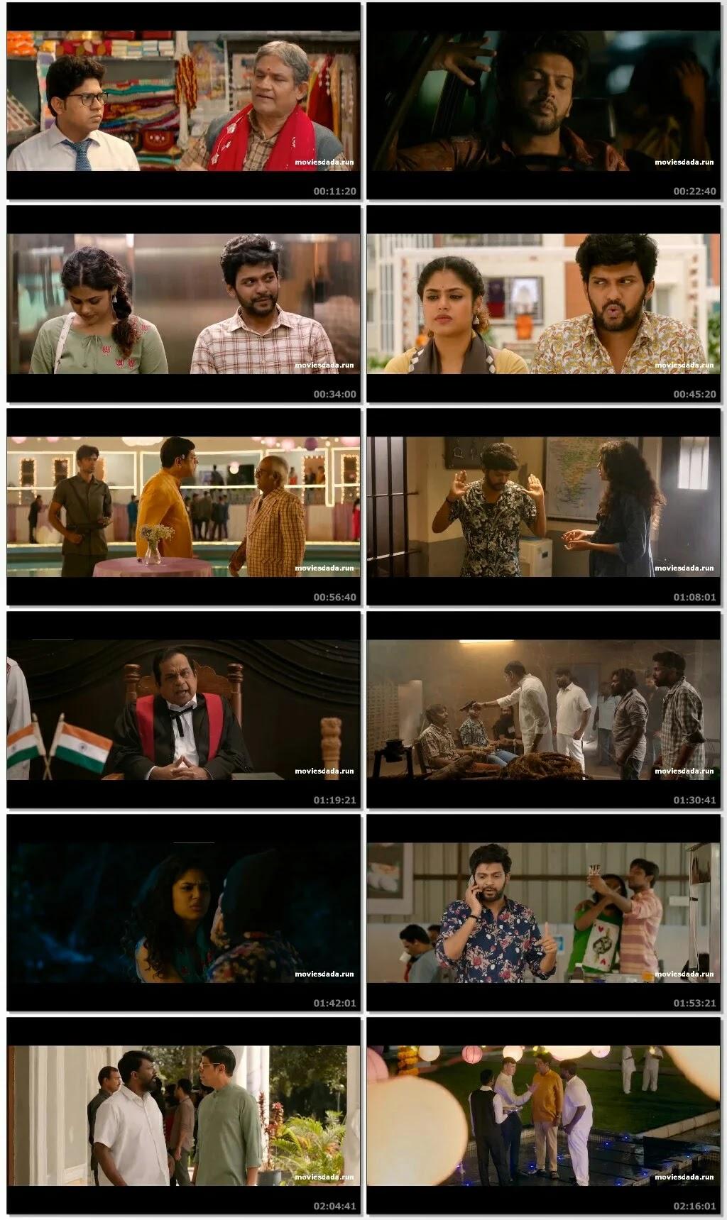 Jathi Ratnalu (2021) Movie Hindi Dubbed free download