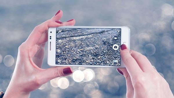 هاتف يصور من الفضاء