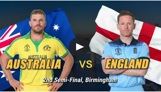 England vs Australia, Live Streaming, World cup Semifinal match,Australia opted to bat