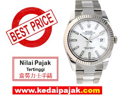 Pajak Rolex Datejust RM20,000 - kedaipajak