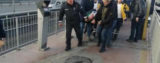 إسطنبول..حادث مروع في محطة المتروبوس(فيديو)