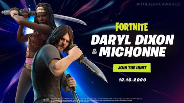سيأتي The Walking Dead قريبًا إلى Fortnite