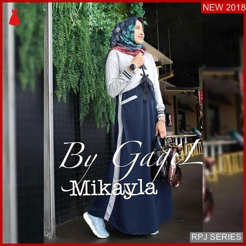 RPJ045D223 Model Dress Mikayla Cantik Dress Wanita
