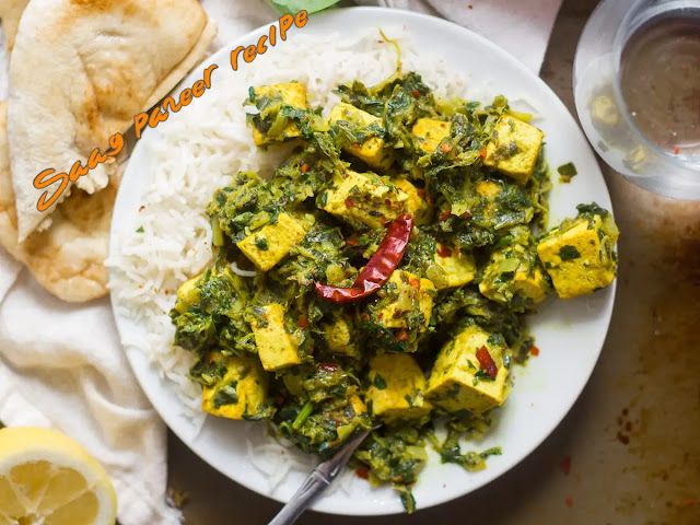 Saag paneer recipe easy to make at home