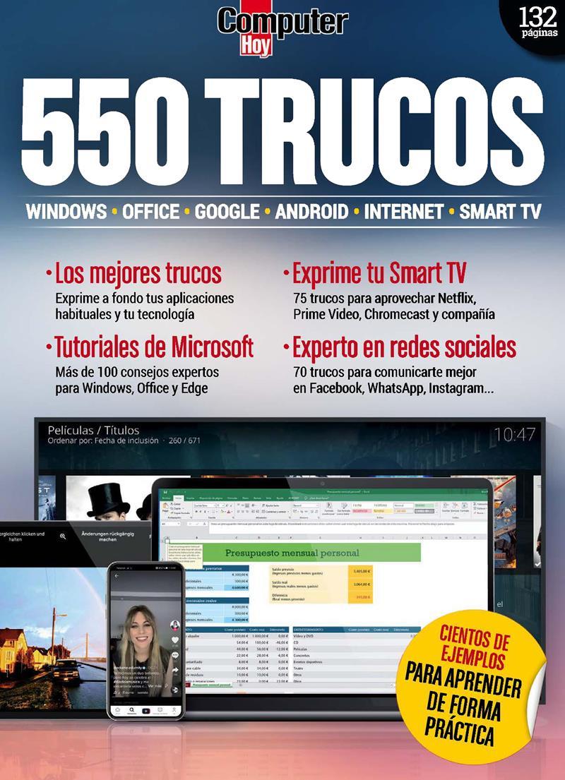 Computer Hoy Extra Nro. 30: 550 Trucos – 2021