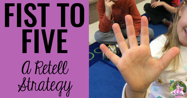 Teach this retelling strategy to your students for a complete retell every time! Using this retell activity and retell anchor chart, your primary students will share a complete account of their fiction text. When an oral retell has been mastered, move on to written retell skills with these resources!